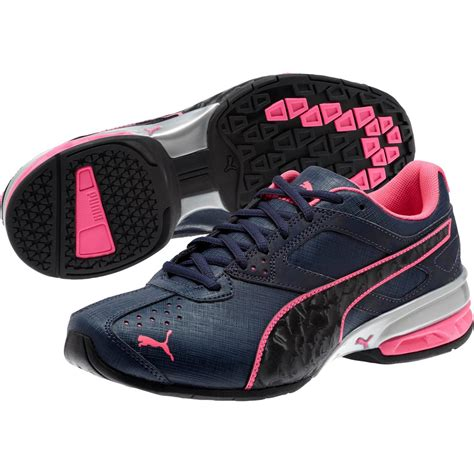 Black And Pink Puma Sneakers
