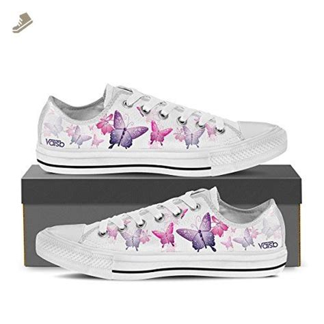 Black And White Butterfly Man Durable Fashion Sneakers Low Top Fashion Shoes