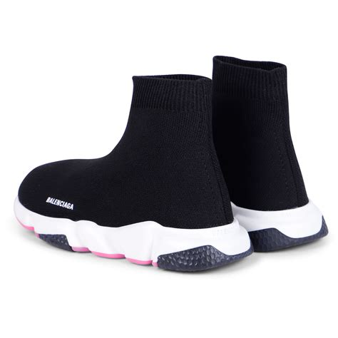 Black Balenciaga Sock Sneakers Womens