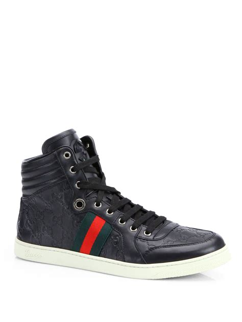Black Gucci Sneaker For Men