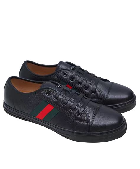 Black Gucci Sneakers Replica