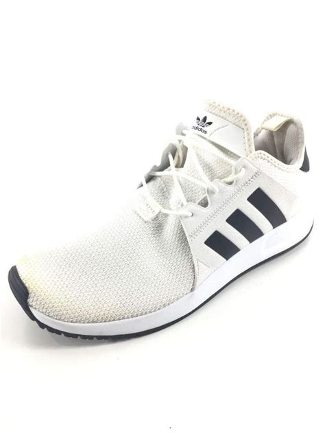 Black Mesh White Stripes Adidas Sneakers