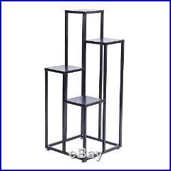 Black Plant Stand Indoor Multilevel