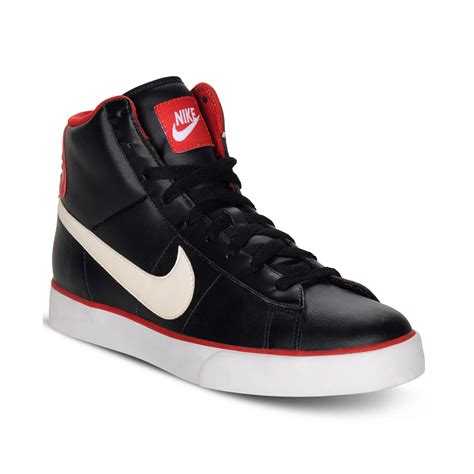 Black Sneakers High Top Nike