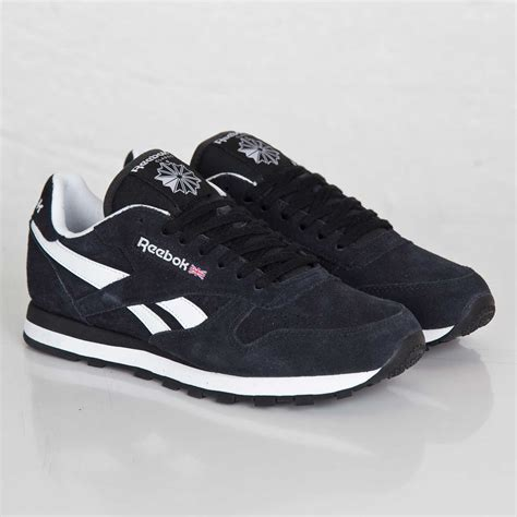 Black Suede Reebok Sneakers