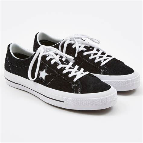 Black Suede Sneakers Converse One Star