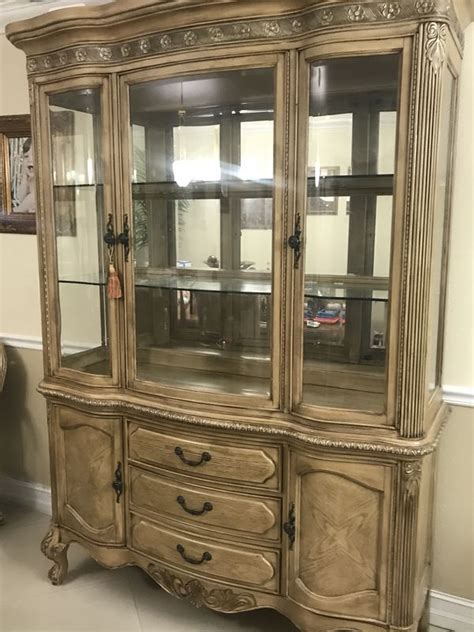 Black Unfinished Curio Cabinets For Sale