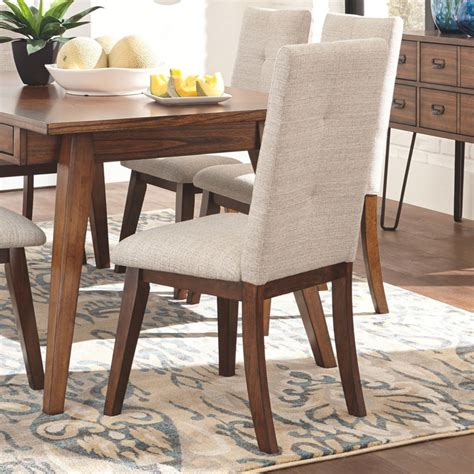 Black Upholstered High Back Dining Chairs