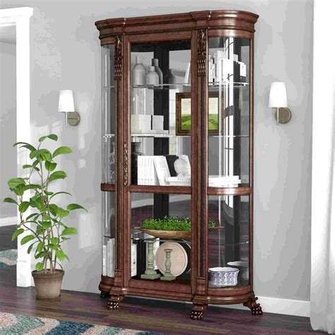 Black Used Curio Cabinets For Sale