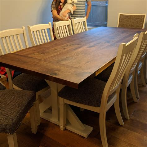 Black Walnut Dining Table Plans