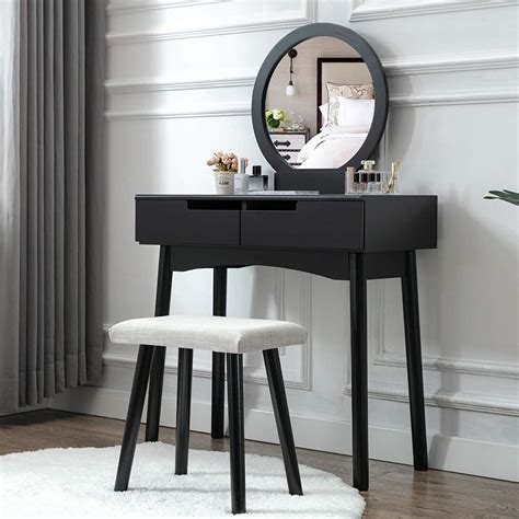 Black Wood Dressing Table Plans