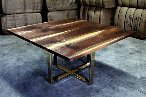 Black Wood Table Base Plans