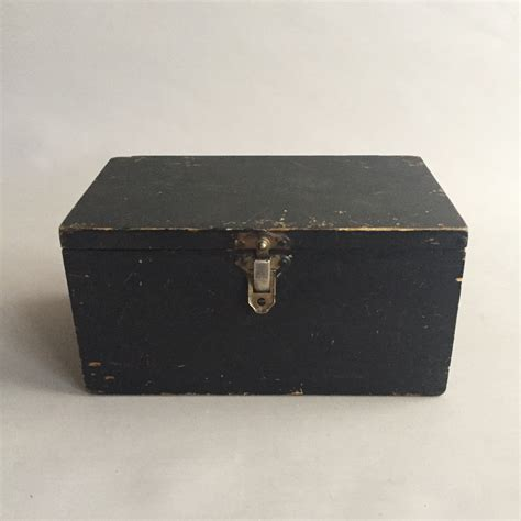 Black Wooden Chest Plans