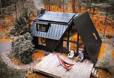 Black-A-Frame-Cabin-Plans