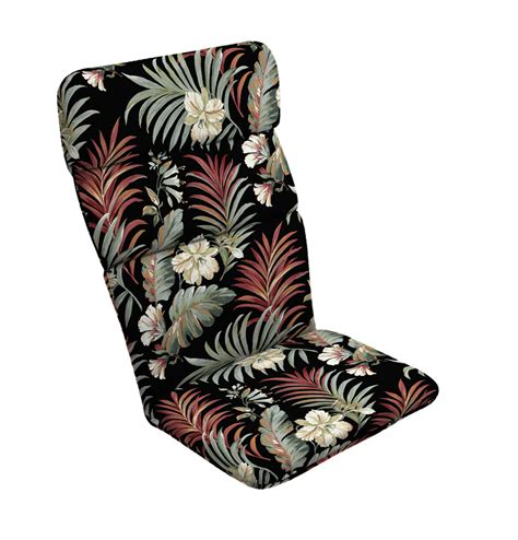 Black-Adirondack-Chair-Cushions