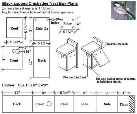 Black-Capped-Chickadee-Bird-House-Plans