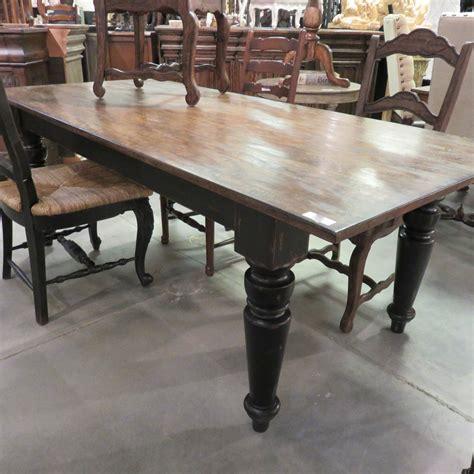Black-Distressed-Farm-Table