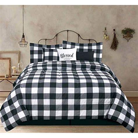 Black-White-Farmhouse-Bedding