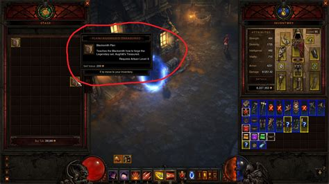 Blacksmith Plans Diablo 3 Ps3