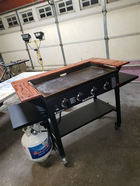 Blackstone Griddle Surround Table Diy For 3d