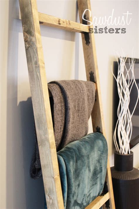 Blanket Ladder Diy Video