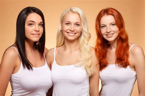 Blonde, Brunette or Red Haired? The Choice is Yours