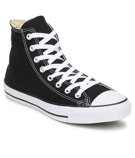 Blsck Stringless Converse Sneakers