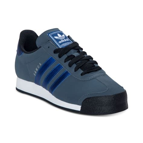Blue Adidas Sneakers For Men