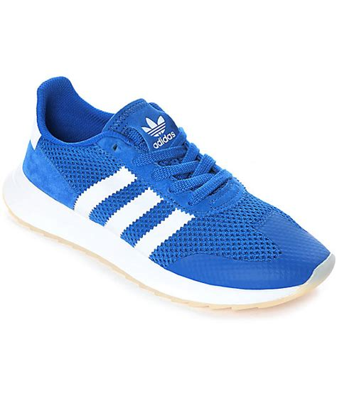 Blue Adidas Womens Sneakers