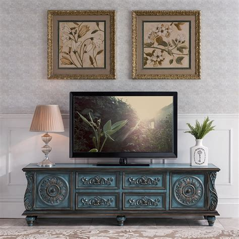 Blue Tv Stand For Sale