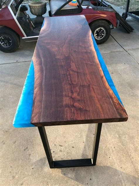 Blue Wood Table Plans