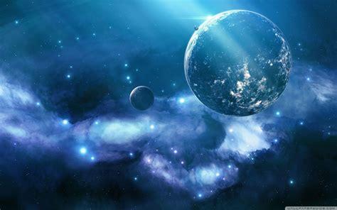 Blue Galaxy High Resolution
