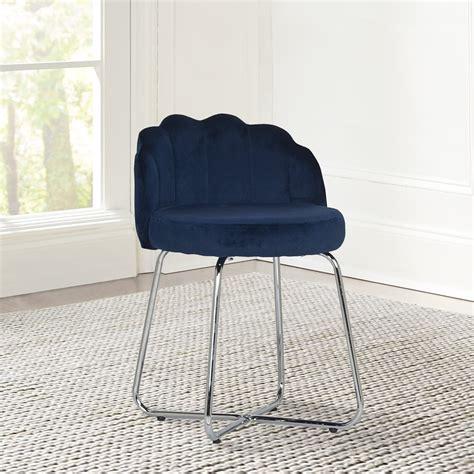 Blue-Vanity-Stool