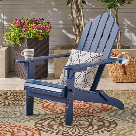 Blue-Wood-Adirondack-Chairs