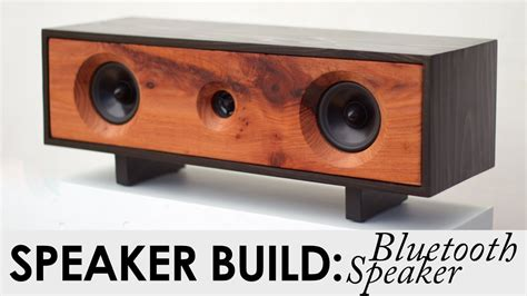 Bluetooth Speaker Build Plans