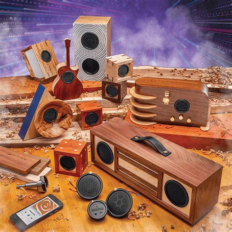 Bluetooth-Speaker-Woodworking-Kit