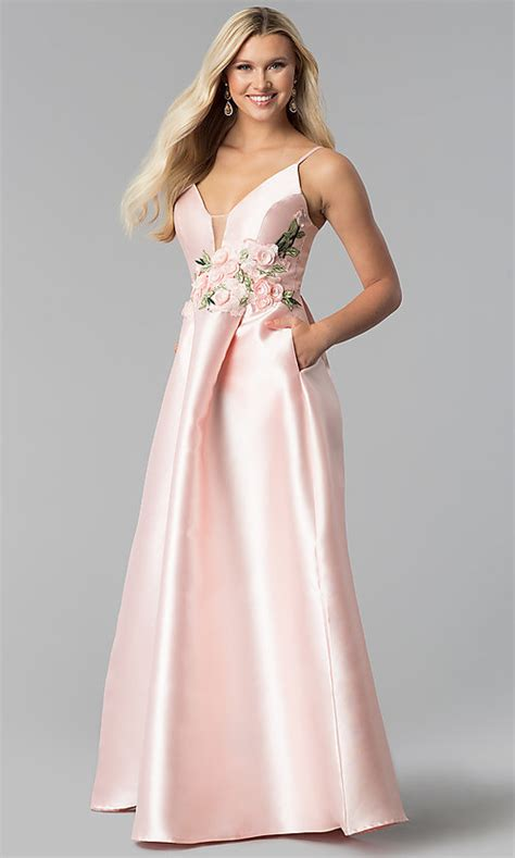 12e75b64b10 💥 Blush Evening Dress - Shopstyle Low Price 2018 Ads, Deals And Sales.