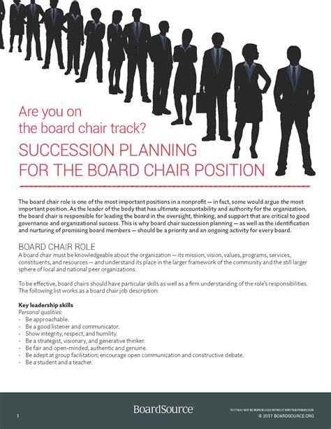 Board-Chair-Succession-Planning