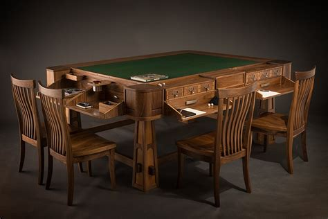 Board-Game-Table-With-Stools-Diy