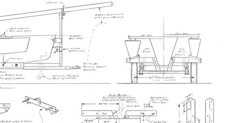 Boat Trailer Construction Plans