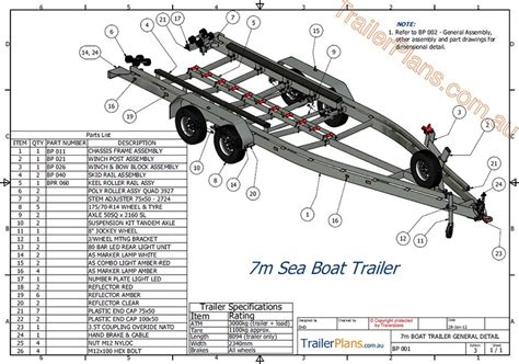 Boat Trailer Plans Online