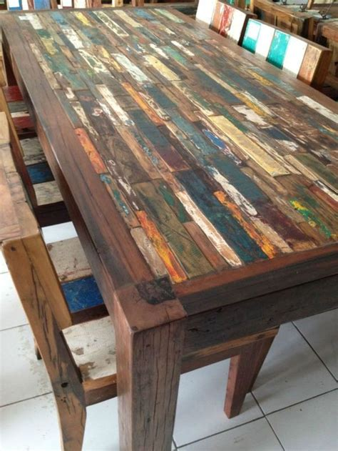 Boat Wood Furniture Diy
