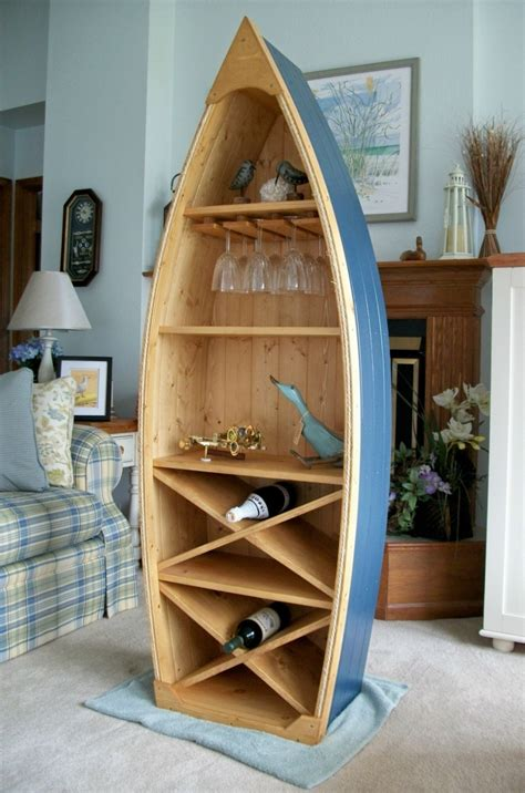 Boat-Shaped-Bookcase-Plans