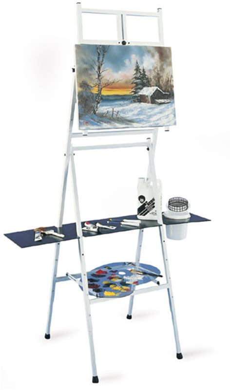 Bob Ross Painting Easel Diy