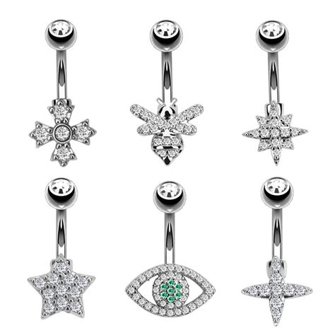 Body piercing jewelry is a part of latest fashion