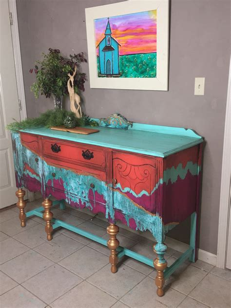 Bohemian Diy Painted Furniture