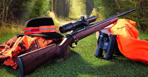 Bolt Action 308 Hunting Rifle And Lee Harvey Oswald Rifle Scope