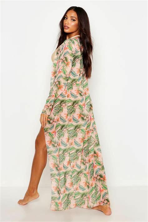 565c5e8495 💥 Boohoo Swim Maxi Beach Kimono White Poshmark See Price 2019 Ads ...