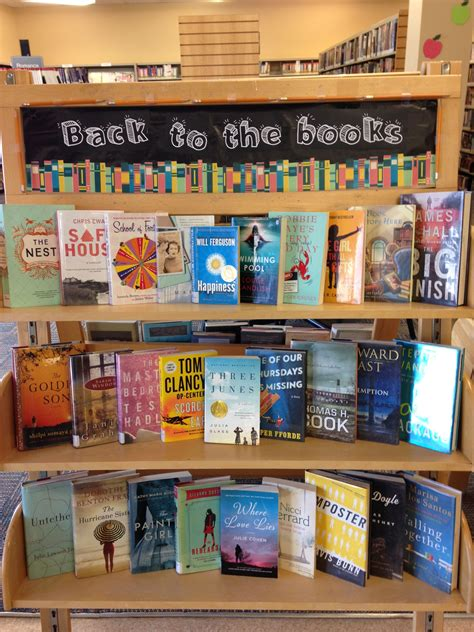 Book Display Ideas For September