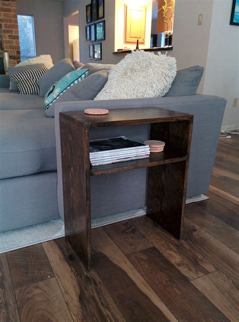 Book End Table Diy